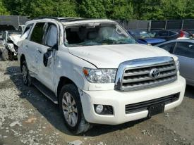 Salvage Toyota Sequoia Cars For Sale And Auction